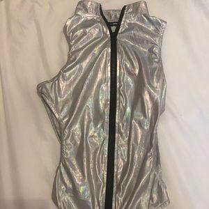 Fashion Nova Metallic bodysuit